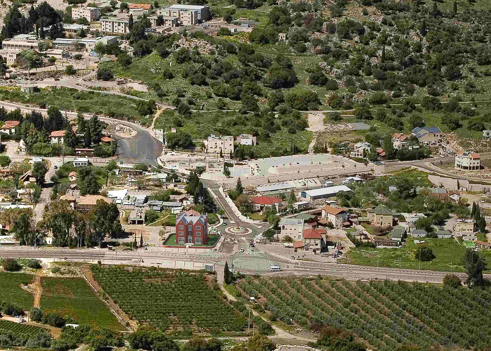 HABAD-ARIEL-VIEW