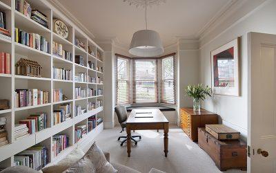 עצות ורעיונות לעיצוב הספריה הביתית